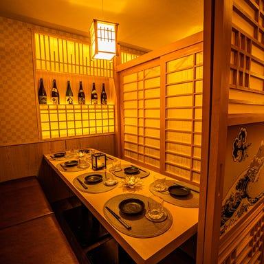 完全個室居酒屋 うに幕府のかに将軍 品川店 店内の画像