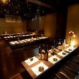 ◆こちらは最大50名様までのご宴会に♪フロアでの貸切を是非!