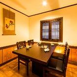 ◆個室焼肉 百済 個室紹介 -テーブル個室-