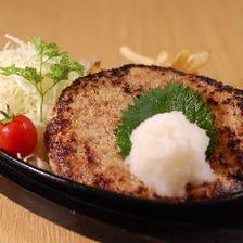 【当店一番人気】ひさちゃんハンバーグ