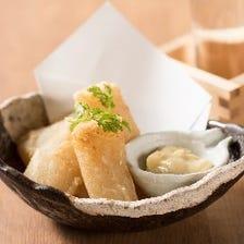 和食ベースの趣向を凝らしたメニュー