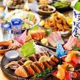飲み放題付きの宴会コースは3500円~!( 税抜)