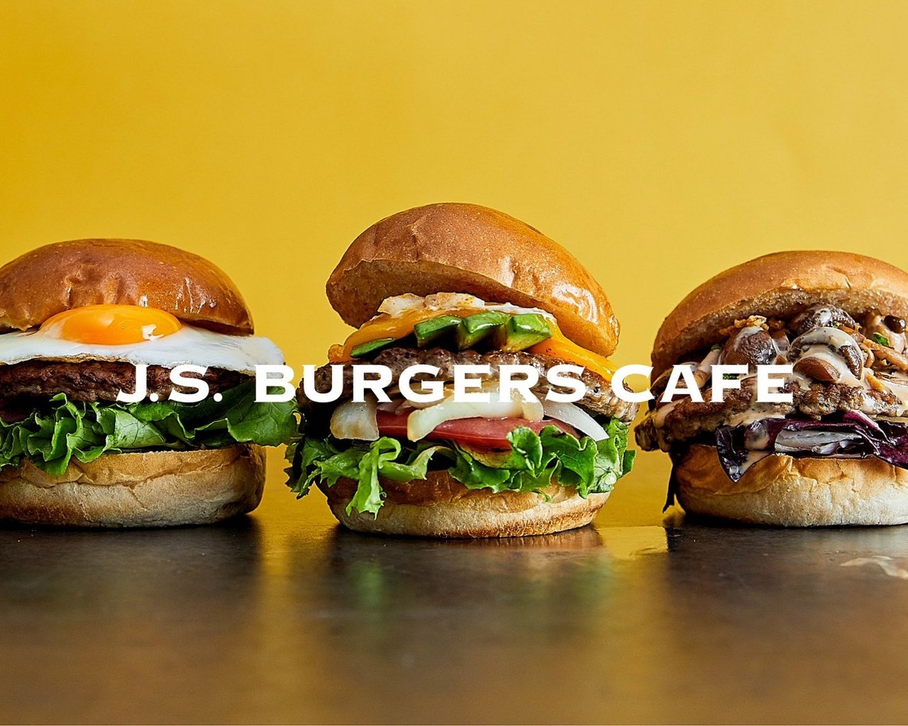 J.S. BURGERS CAFE/ J.S. BEER GARDEN
