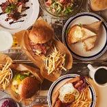 """""""Life with BURGERS~ハンバーガーのある生活~""""をコンセプトに、ジューシーでボリューム満点なハンバーガーをご提供しております!"""