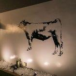 宮崎牛をモデルにしたオリジナルイラストもステキ♪