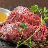宮崎牛のじゅわーっと溢れる肉汁を堪能してください!