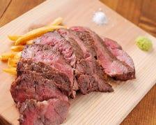 熟成(ドライエイジング)アンガス牛の炭焼ステーキ