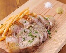 熟成(ドライエイジング)やまと豚の炭焼きステーキ