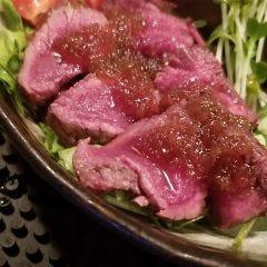 エゾ鹿肉のタタキ