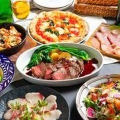 本格イタリアン×90分飲み放題付き。お好きなピッツァが選べる☆