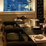お座敷個室もご用意。接待などのお食事会に重宝いただいています