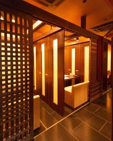 八尾×個室×日本料理 酒惣菜 味楽  店内の画像