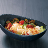 ピリ辛豆腐サラダ