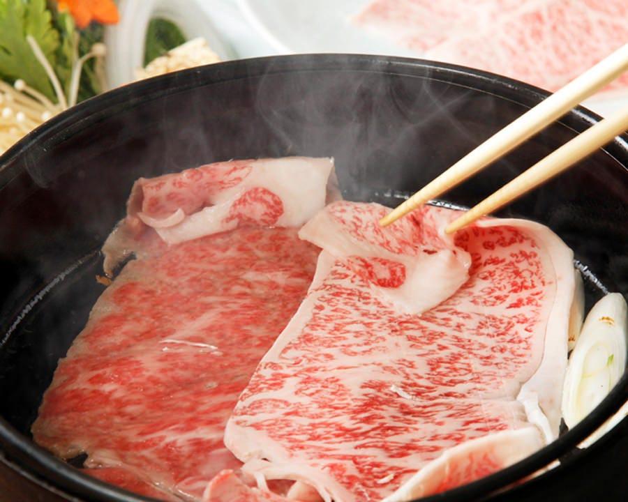極上の味わい。和牛すき焼
