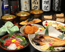 【2時間飲み放題付】肉!!魚!!どちらも満足いくまで食べたい方へ DX満足プラン