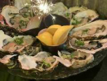 新鮮蒸し牡蠣