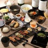 接待、デートに◎ワインがすすむ少量多皿の約20品「璃宮コース」