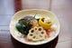 鰆西京焼き・ナマコ酢・黒豆煮・酢蓮根