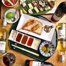 【貸切限定/全6品】ワイン2本プレゼント付『貸切特別コース』|宴会 飲み会