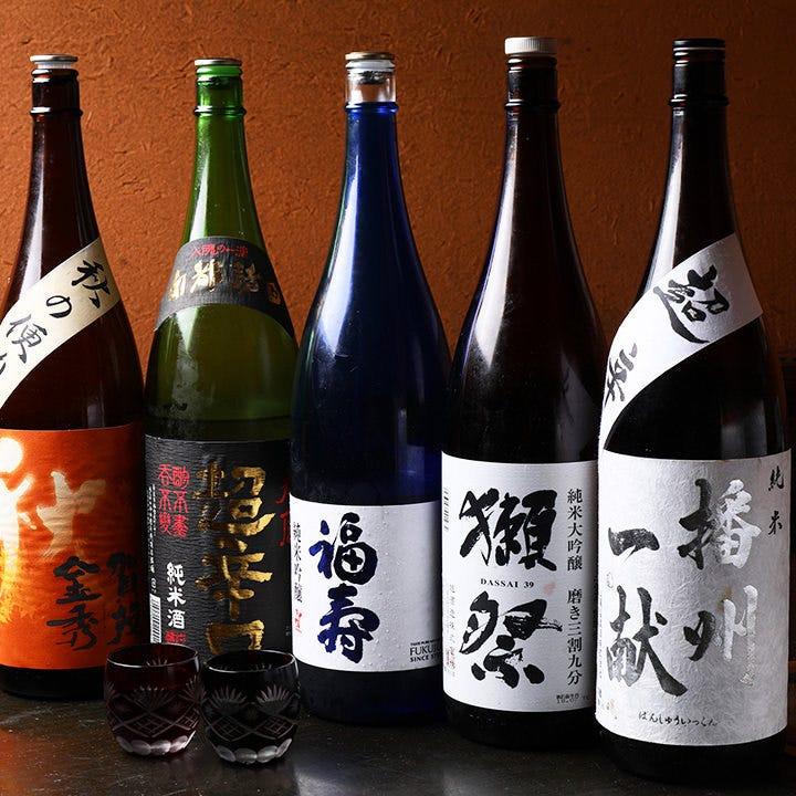 日本酒好きが集まるなら!地酒を飲み放題にプラス!