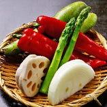 野菜の5種盛り合わせ