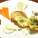 【4種チーズ盛り】