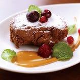 チョコレートムースのテリーヌ