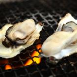 気仙沼唐桑半島の焼き牡蠣