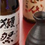 老舗酒蔵さんのみにご協力いただいている、こだわりの日本酒です