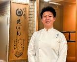 物心ついた頃から料理人になると決めていたという店主・橋口氏