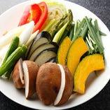 「季節の野菜盛り」