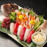 お祝いの席に「鯛の姿造り」!!事前のご予約をお願い致します!
