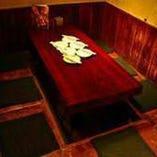 最大7,8名様まで入れる人気の個室席