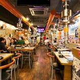 韓国料理屋を貸切で!40名様~56名様でご利用できる貸切