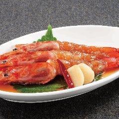 赤海老の特製醤油漬け(セウジャン)