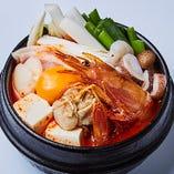 海鮮純豆腐チゲ(2~3名様分)