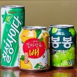韓国ジュース各種