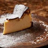 チーズケーキ バスク風