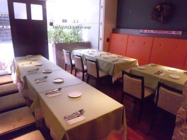 イタリア料理 イル・クアドリフォーリオ  店内の画像