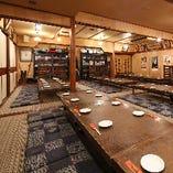 地元最大級の座敷宴会場完備!お店丸ごと貸切は160名様までOK♪