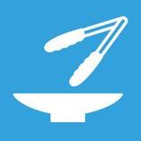 【衛生管理について】 取り分け用の箸・トングをご用意しています