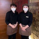 【接客対応について】 従業員のマスク、帽子の着用を徹底