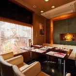 【2〜6名様×2室】お顔合わせや会食、記念日におすすめなソファ席