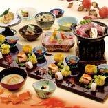 通常の宴会はコースもOK!お昼は料金が500円引き!