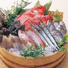 朝どれの産直鮮魚が絶品!!
