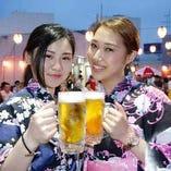 夏はやっぱりキンキンに冷えた生ビールで決まり!!