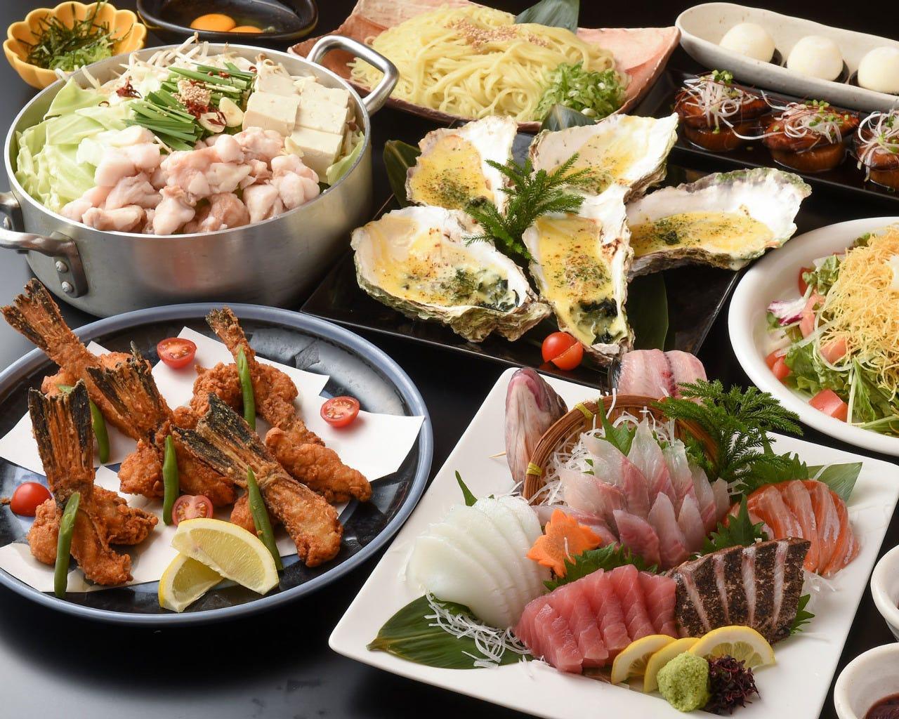 忘新年会・各宴会に旬魚満載!