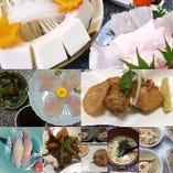 クエ鍋以外にもクエを使った様々なお料理をお楽しみ下さい