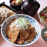 道産豚丼セット