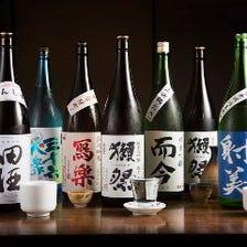 季節の厳選日本酒50種